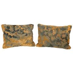 Pair of 18th Century Aubusson Pillows