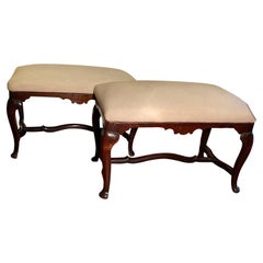 Pair of 18th Century Benches