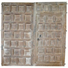 Pair of 18th Century Catalan Entry Doors