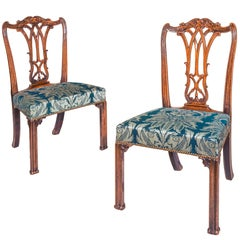 Pair of 18th Century Chippendale Chairs