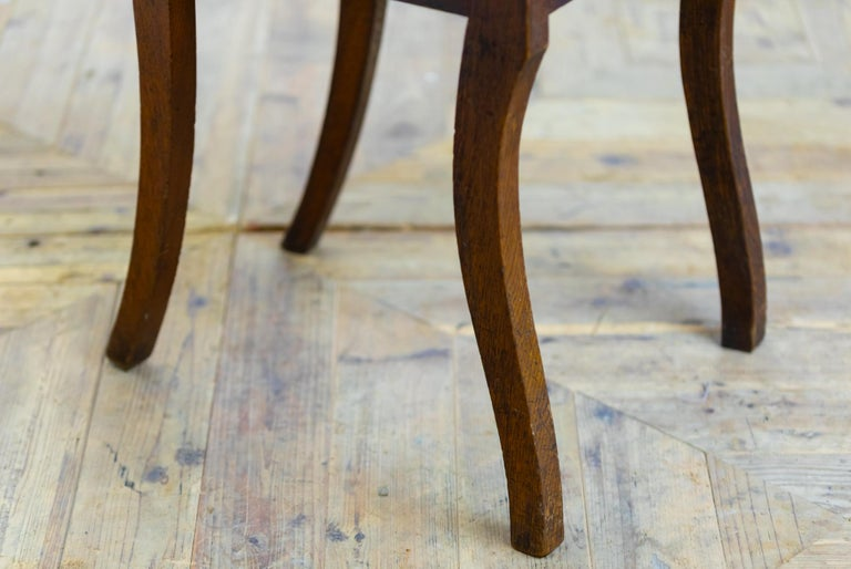 Pair of 18th Century Country House Hall Chairs For Sale 2