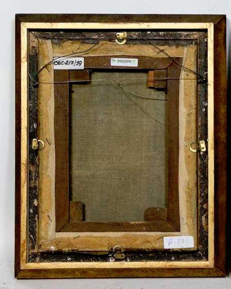 Pair of 18th Century Dutch Floral Still Life Paintings on Canvas, Later Frames For Sale 1