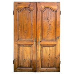 Pair of 18th Century French Armoire Doors