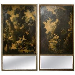 Pair of 18th Century French Trumeaus