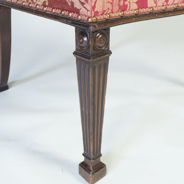 Pair of 18th Century George III Mahogany Chairs possibly by Thomas Chippendale For Sale 2