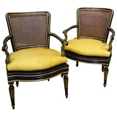 Pair of 18th Century Italian Armchairs