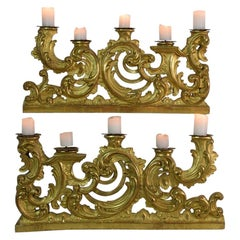Baroque Candle Holders