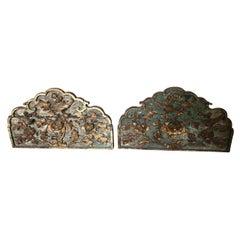 Pair of 18th Century Italian Cornices