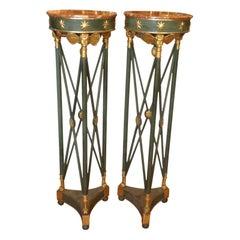 Pair of 18TH Century Italian Neo - Classic Pedestals