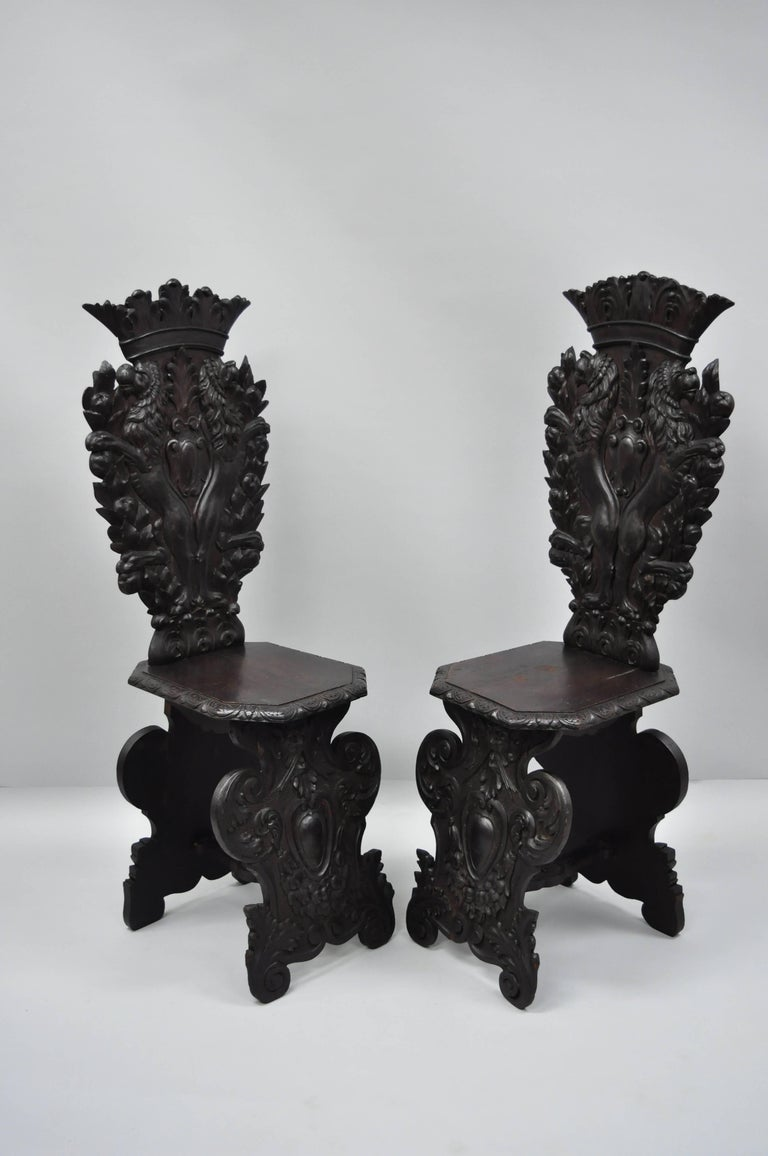 Pair of 18th century Italian Renaissance