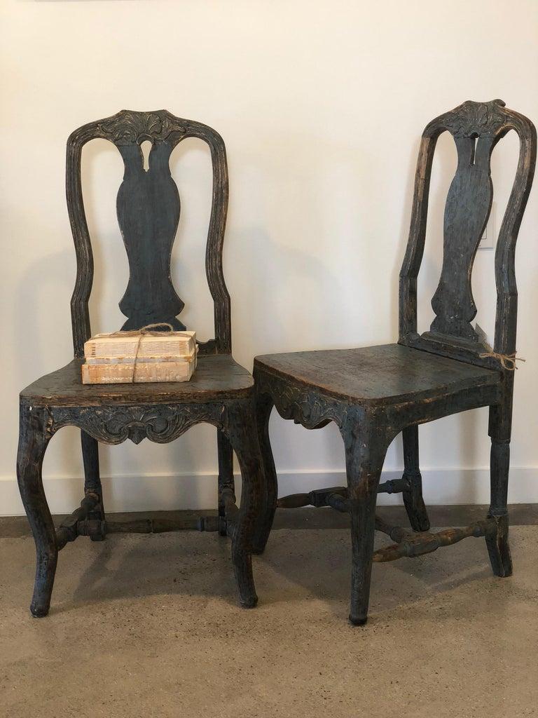 Paar Rokoko Antike Stuhle Aus Dem 18 Jahrhundert Im Angebot Bei 1stdibs