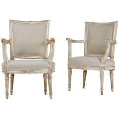Pair of 18th Century Silver Gilt Chairs