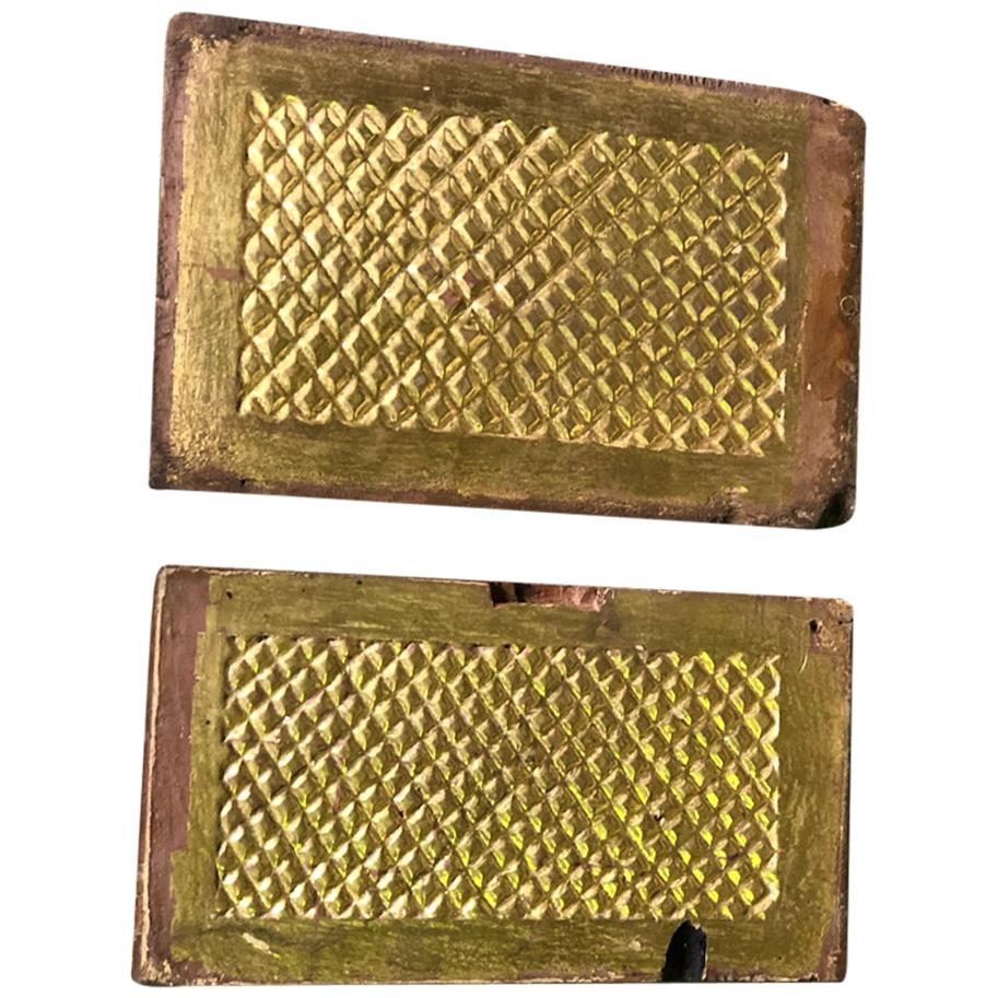 Pair of 18th Century Spanish Altar Panels