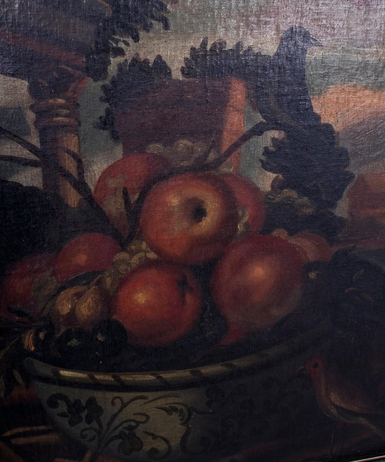 Hand-Painted Pair of 18th Century Spanish Anonymous