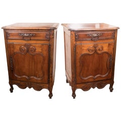 Pair of 18th Century Walnut Buffets