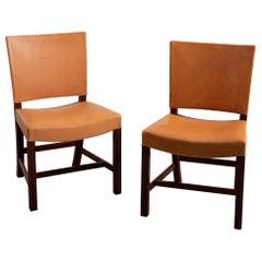 Pair of 1920s Kaare Klint Sidechairs