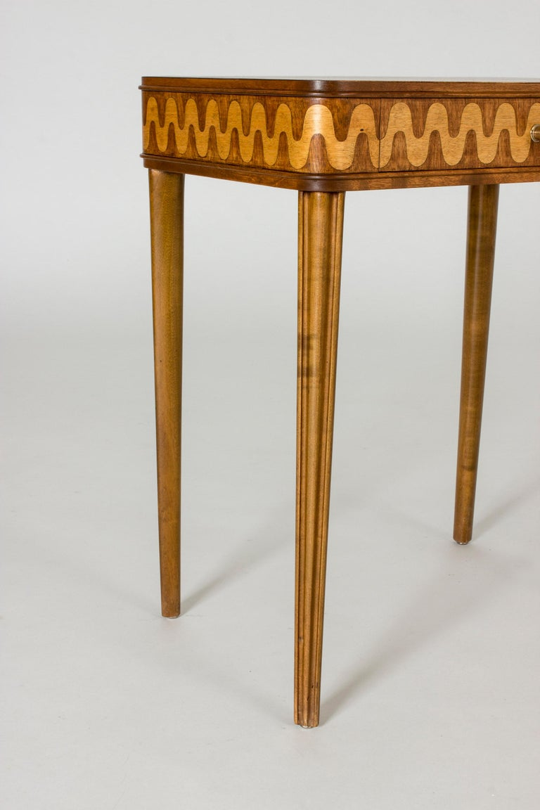 Wood Pair of 1930s Bedside Tables from NK