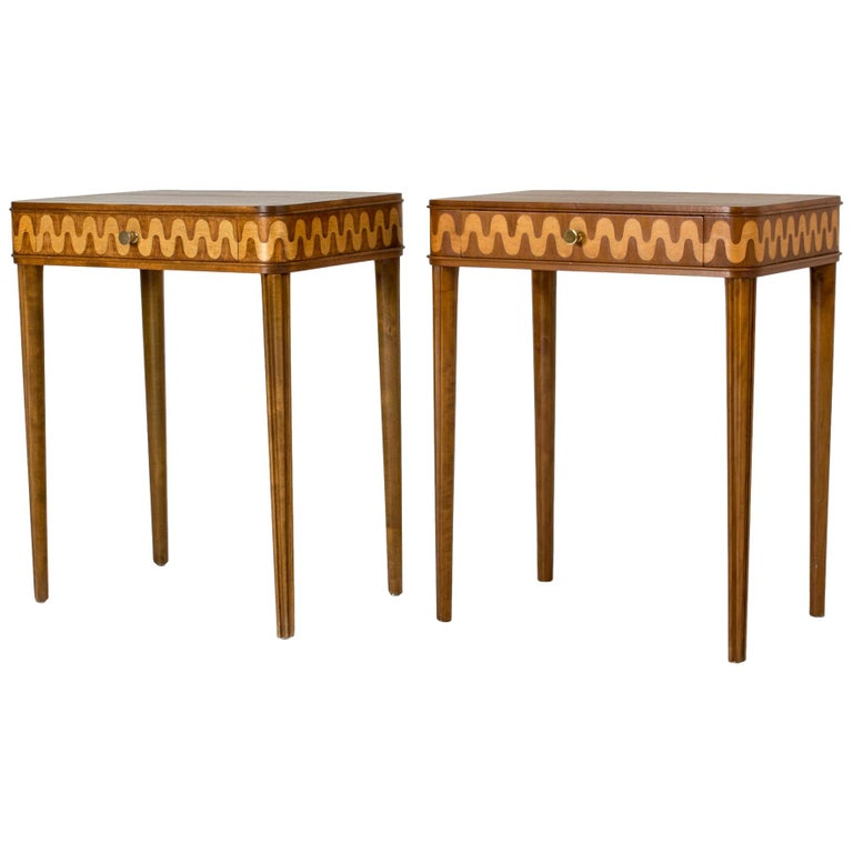 Pair of 1930s Bedside Tables from NK