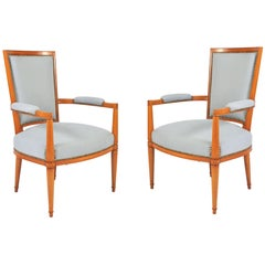 Pair of 1930s French Chairs by André Arbus