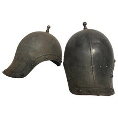 Pair of 1930s Reproduction Ancient Roman Soldiers Helmets
