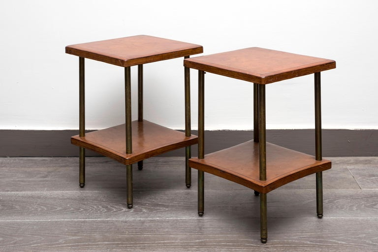 Pair of 1940s Side Tables In Good Condition For Sale In Paris, FR