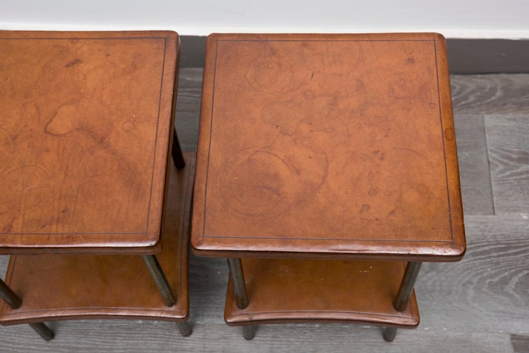 Pair of 1940s Side Tables For Sale 1