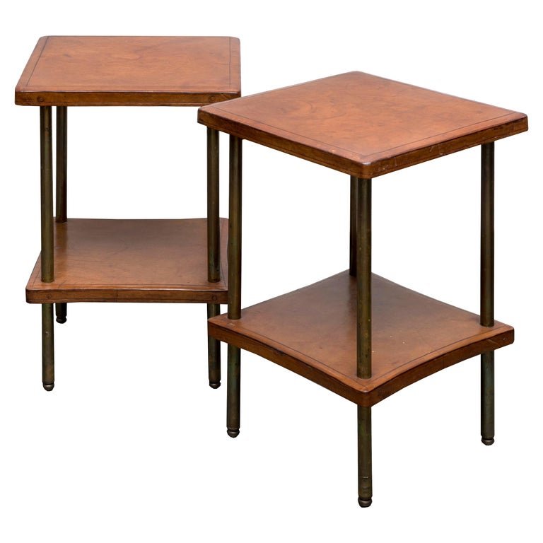 Pair of 1940s Side Tables For Sale