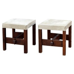 Pair of 1940s Mexican Stools