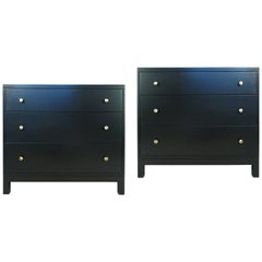 Pair of 1940s Modern Chests by Widdicomb