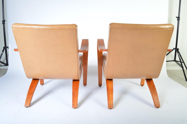 Admirable Pair Of 1940S Thonet Bentwood Lounge Chairs At 1Stdibs Gmtry Best Dining Table And Chair Ideas Images Gmtryco