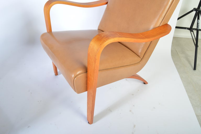 Amazing Pair Of 1940S Thonet Bentwood Lounge Chairs At 1Stdibs Spiritservingveterans Wood Chair Design Ideas Spiritservingveteransorg