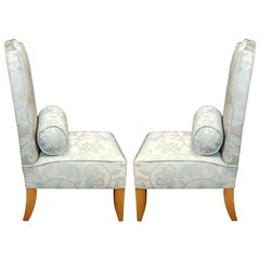 "Pair of 1946 ""Chauffeuse"" Armchairs Attributed to Andre Arbus"