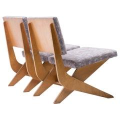 Pair of 1950 Scissors Chairs