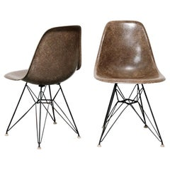 Pair of 1950s Eames DSR Side Chairs