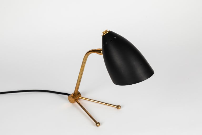 Pair of 1950s Finnish Table Lamps Attributed to Mauri Almari 3