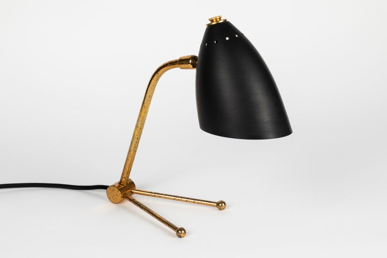 Pair of 1950s Finnish Table Lamps Attributed to Mauri Almari 5