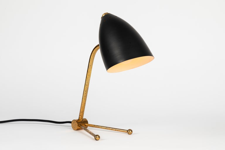 Pair of 1950s Finnish Table Lamps Attributed to Mauri Almari In Good Condition In Glendale, CA