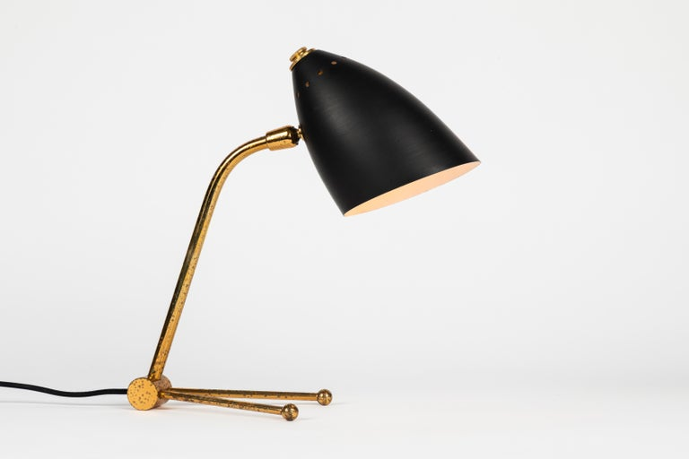 Pair of 1950s Finnish Table Lamps Attributed to Mauri Almari 2