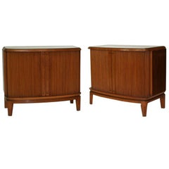 Pair of 1950's French Nightstands
