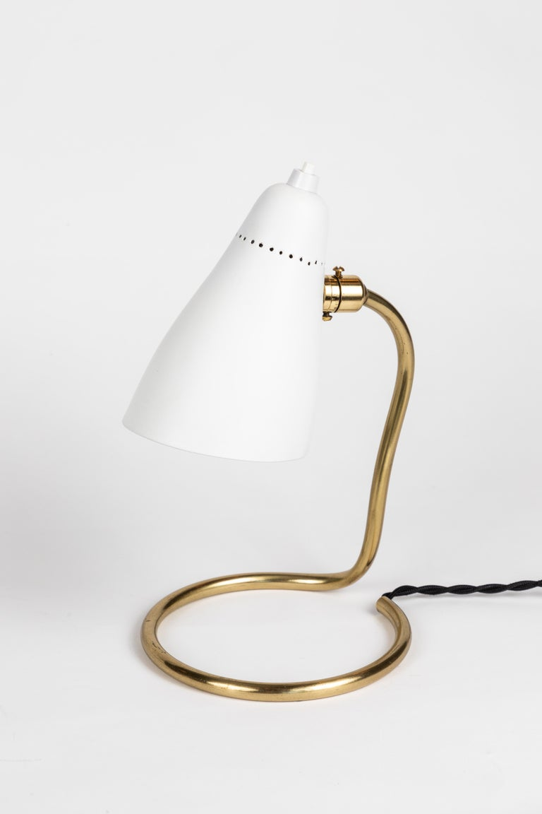 Pair of 1950s Giuseppe Ostuni 'Vipere' Table Lamps for O-Luce For Sale 8