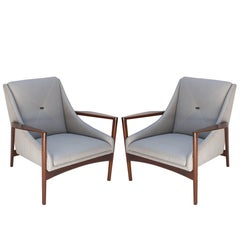 Pair of 1950s Ib Kofod-Larsen Armchairs