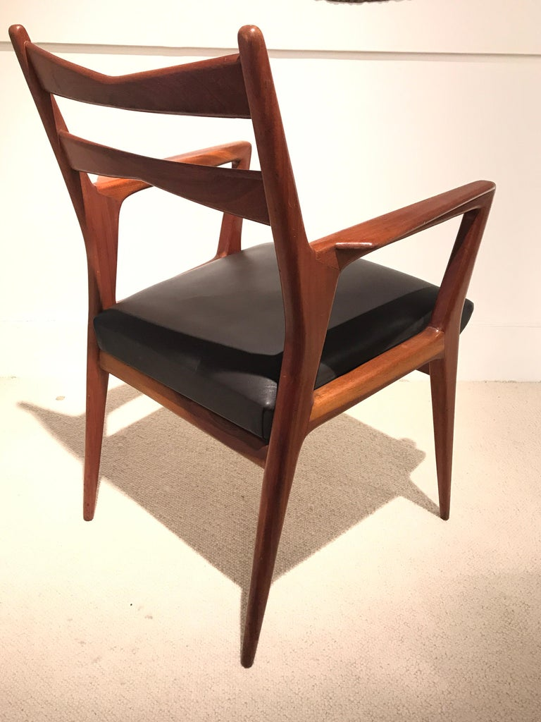 Pair of 1950s Italian Armchairs For Sale 6
