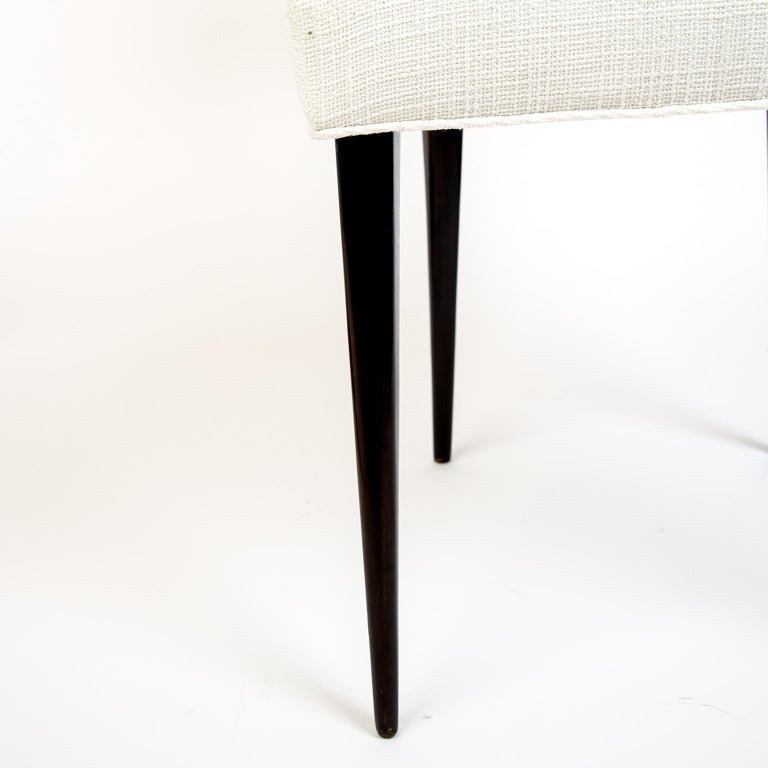 Mid-20th Century Pair of 1950s Italian Dinning/Occasional Chairs by Vittorio Dassi For Sale