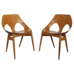 Pair of 1950s Jason Chairs Designed by Carl Jacobs & Frank Guille for Kandya