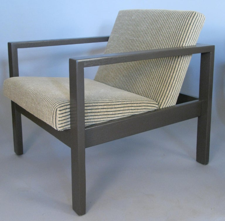 Pair of 1950s Lounge Chairs by Harvey Probber In Good Condition For Sale In Hudson, NY