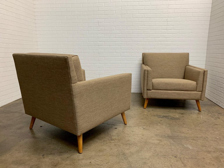 Pair of 1950s Lounge Chairs For Sale 6