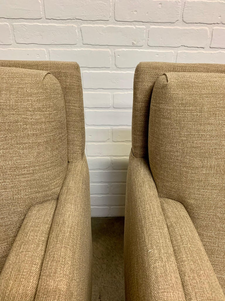 Pair of 1950s Lounge Chairs For Sale 7