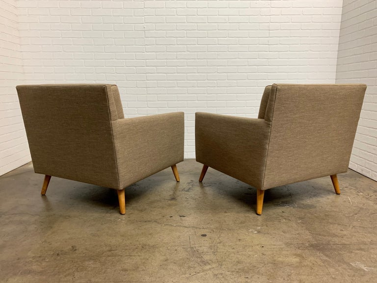 20th Century Pair of 1950s Lounge Chairs For Sale