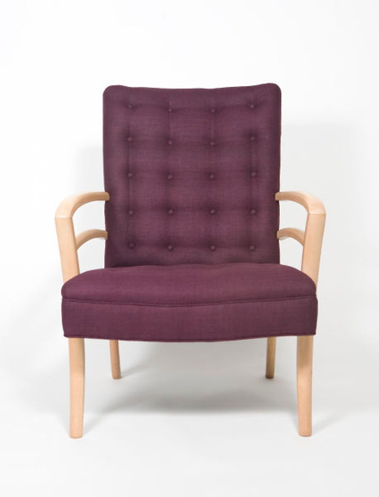 Pair of 1950s Mid-Century Modern Italian Armchairs In Good Condition For Sale In New York, NY