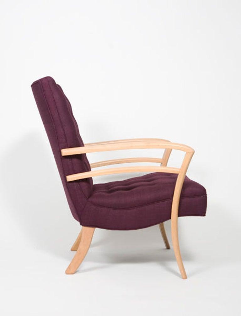 Mid-20th Century Pair of 1950s Mid-Century Modern Italian Armchairs For Sale